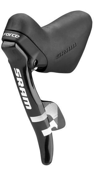 SRAM Force Schakelhendel voorwiel, 2-speed wit/zwart